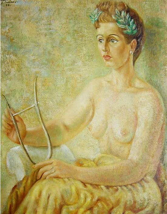 Retrato de Pita Amor - Juan Soriano