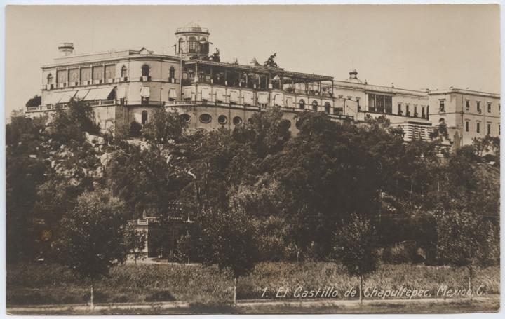 El_Castillo_de_Chapultepec,_Mexico_(5332760827)